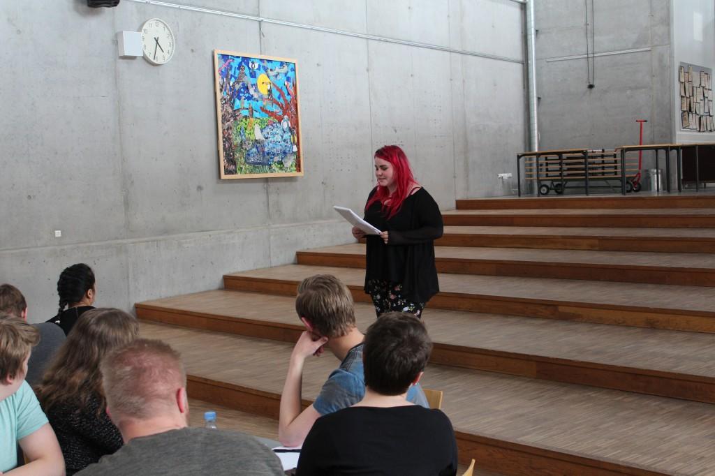 Natascha var mega sej, da hun stillede sig op og holdt sin tale om, hvor skidt mobning er.