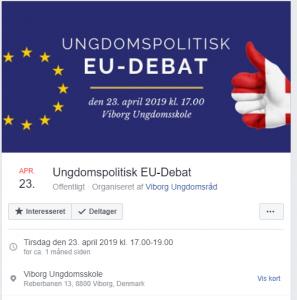 Viborg Ungdomsråd holdt ungdomspolitisk EU-debat, hvor kun unge kandidater og ordførere fik mulighed for at tale deres sag.